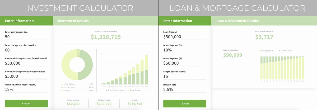 Vivid Financial Management website and logo redesign and redevelopment by Motion Tactic